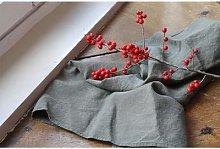 Linge Particulier - Khaki Linen Dishtowel - Grey