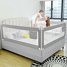 LINGKY Baby Bed Rail, Breathable Mesh Bed Guard,