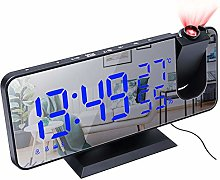 LINGSFIRE Projection Alarm Clock with Temperature