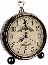 LINGSFIRE Retro Alarm Clock for Bedroom, 5.3