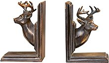 Linjolly Desk storage Bookends for Heavy Bookends