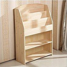 Linjolly Desk storage Bookshelf 5 Tier Bookcase