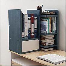 Linjolly Desk storage Creative Desktop Bookshelf