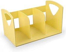 Linjolly Desk storage Portable Bookends, Plastic