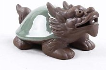 Linka Turtle Dragon Treasure Tea Pet Purple Grit