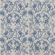Linley Larkspur Blue/White Cotton 140cm/54""
