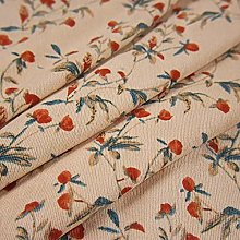 LinLiQiao Classical Flower Printed Fabric Soft