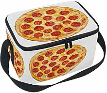 Linomo Sausage Pizza Lunch Box Insulated Lunch