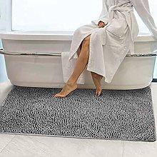 LINRUI Extra Large Long Bath Mat Soft Microfiber
