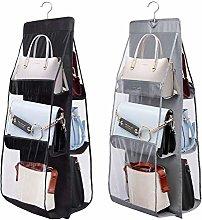Linseray Wardrobe Handbag Organiser, 2 Pcs 6