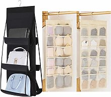 Linseray Wardrobe Handbag Organiser, 6 Pockets