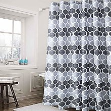 LinTimes Shower Curtain Mildew Resistant Bathroom