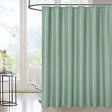 LinTimes Waffle Weave Shower Curtain, Water Proof