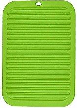 LINVINC Green Silicone Trivet Mat - Heat Resistant