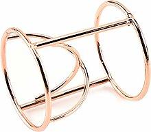 LINVINC Metal Egg Cups - Rose Gold Copper Boiled