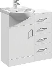Linx Bathroom Furniture Vanity Basin & Drawer
