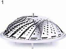 LINYIN Foldable Mesh Basket Stainless Steel