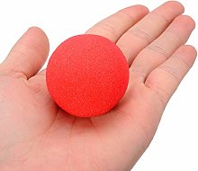 Linyuex Magic Props Adorable Red Ball Super Soft