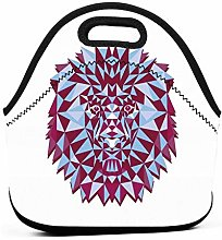 Lion Aston Villa Art Insulated Lunch Bag Tote