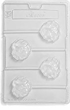 Lion Lolly Chocolate Mould 4 Cavity (Pack of 5)