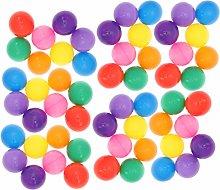 LIOOBO 200 Pcs Crush Proof Plastic Ball Colorful