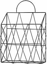 LIOOBO Wall-mounted Magazine Newspaper Holder Rack