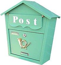 LIOYUHGTFY Letterbox Mailbox Security Lockbox Post