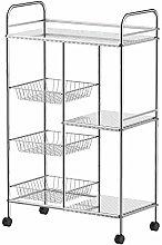LIPENLI Kitchen Shelf Stainless Steel Kitchen