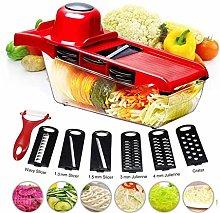 LIPENLI Vegetable Slicer, Vegetable Cutter, Food