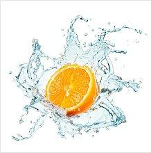 Lipford Fresh Orange 240cm L x 240cm W Wallpaper