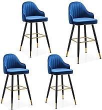 LIPINCMX High Bar Stools Chairs Nordic Modern Bar