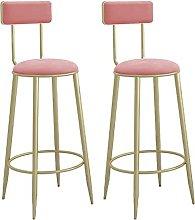 LIPINCMX High Bar Stools Chairs Set of 2 Bar