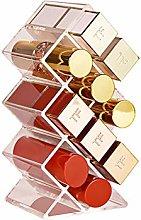 Lipstick storage grid, lip gloss storage lipstick