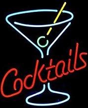 LiQi Cocktails Martini Glass LOGO BEER BAR REAL