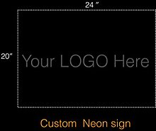 LiQi Personalized Custom Design Beer Neon Sign