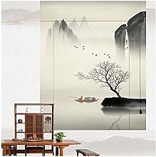 LIQICAI Bamboo Roller Blinds For Windows And