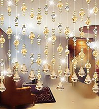 LIQICAI Beaded Curtain Crystal For Wedding Decor