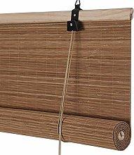 LIQICAI Roller Blinds Bamboo Curtain Roll Up