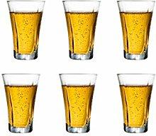 Liqueur Shot Glasses Heavy Base Clear Glass