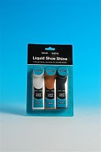 Liquid shoe shine polish