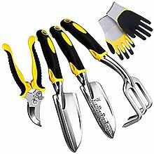 Liseng Set of 5 Gardening Tools Including a