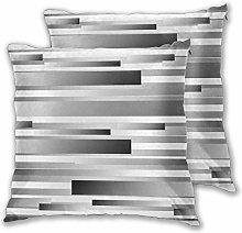 LISNIANY Cushion Cover,Geometric Regular Modern