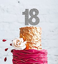 LissieLou 18th Birthday Cake Topper - Glittery
