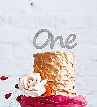 LissieLou 1st Birthday Cake Topper - Glitter