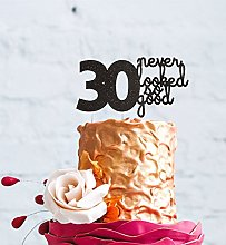 LissieLou 30 Never Looked So Good Cake Topper -