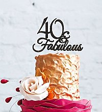 LissieLou 40 & Fabulous - 40th Birthday Cake