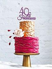 LissieLou 40 & Fabulous - 40th Birthday Cake