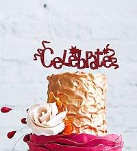 LissieLou Celebrate Cake Topper - Happy Birthday