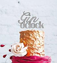 LissieLou Gin O'Clock Cake Topper - Glittery