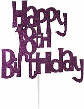LissieLou Happy 18th Birthday Cake Topper